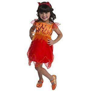 New Devil Halloween Costume 3T 4T 2 pc Set Girls